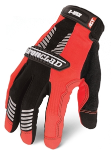 I-VIZ REFLECTIVE ORANGE GLOVES